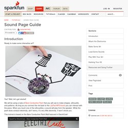 Sound Page Guide