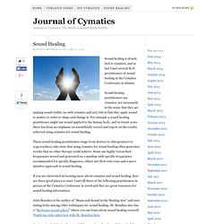 Journal of Cymatics