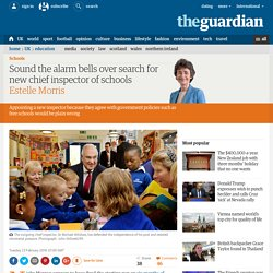 Sound the alarm bells over search for new chief inspector of schools