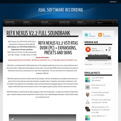 ReFX Nexus v2.2 full soundbank