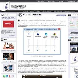 SoundBunny : le mélangeur audio de Windows pour les utilisateurs de Mac