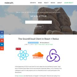 The SoundCloud Client in React + Redux - RWieruch