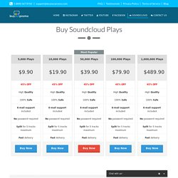 Buy Soundcloud Plays - Buy Your Promo