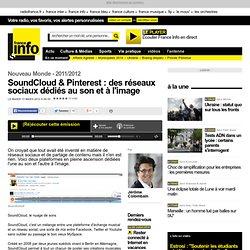 SoundCloud & Pinterest : des réseaux sociaux dédiés au son et à l'image - Nouveau Monde - High Tech