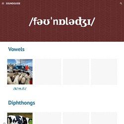 SOUNDGUIDE - Phonology