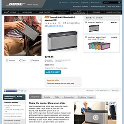 SoundLink® Bluetooth® Mobile speaker II | Bluetooth® Speakers | Digital Music Solutions