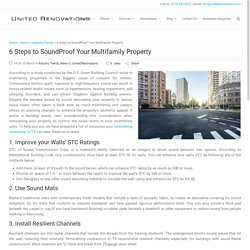 6 Steps to SoundProof Your Multifamily Property