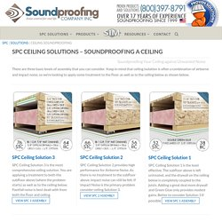 How to Soundproof a Ceiling - Soundproofing Products for Ceilings