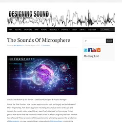 The Sounds Of Microsphere