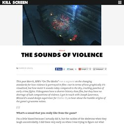 The Sounds of Violence