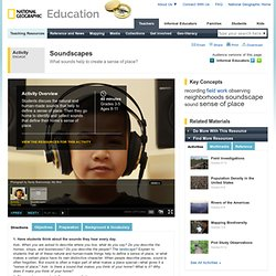 The Soundscape of Your Home