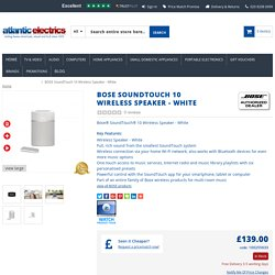 BOSE SoundTouch 10 Wireless Speaker – White Online for Sale