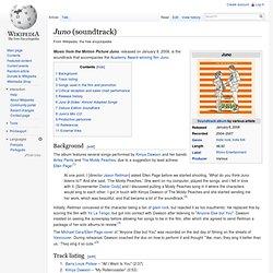 Juno (soundtrack)