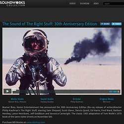 The Sound of The Right Stuff: 30th Anniversary Edition