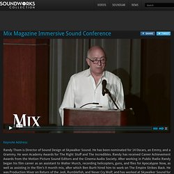 Mix Magazine Immersive Sound Conference