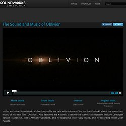 The Sound and Music of Oblivion