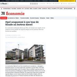 Opel soupçonné à son tour de fraude au moteur diesel