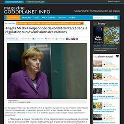 Angela Merkel soupçonnée de conflit d'intérêt dans la régulation sur les émissions des voitures