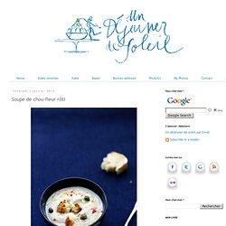 Soupe de chou-fleur rôti