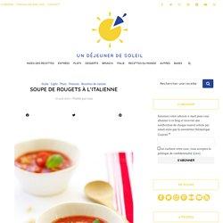 Soupe de rougets à l'italienne