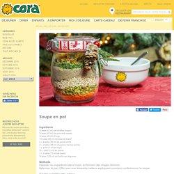 Soupe en pot