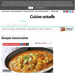 Soupe marocaine, facile et pas cher