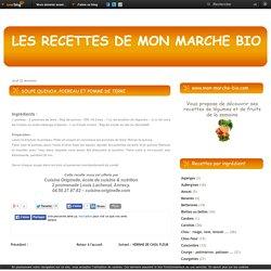 SOUPE QUINOA, POIREAU ET POMME DE TERRE - lesrecettesdemonmarchebio.over-blog.com