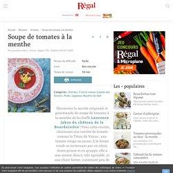 Soupe de tomates : recette de chef (4 étapes)