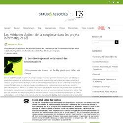 Les Méthodes Agiles : de la souplesse dans les projets informatiques (2)