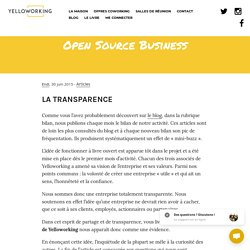 Open Source Business - Yelloworking