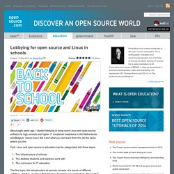 How to use open source in the classroom
