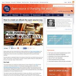 Utilice las herramientas de código abierto para crear sus propios eBooks