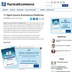 11 Open Source Ecommerce Platforms