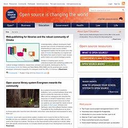 Open source education