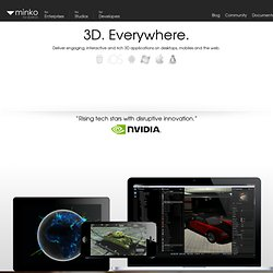 Minko | Open source 3D engine for the web, iPhone, iPad and Android