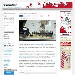 Open source filament maker