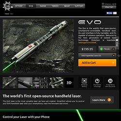 Evo Open-Source Handheld Green Laser