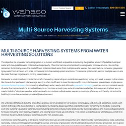 Get a Water Harvesting System