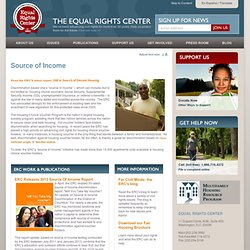 Source of Income - The Equal Rights Center