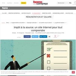 Impôt à la source: un site Internet pour tout comprendre