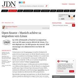 Open Source : Munich achève sa migration vers Linux