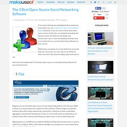 The 5 Best Open-Source Social Networking Software