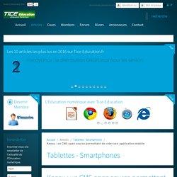 Keosu : un CMS open source permettant de créer son application mobile