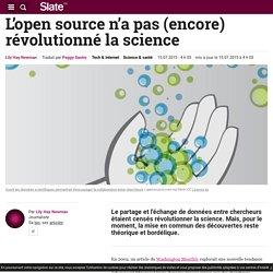 L'open source n'a pas (encore) révolutionné la science