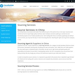 Best Sourcing Agent & Suppliers in China - Loyalasian.com