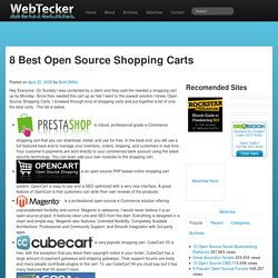 8 Best Open Source Shopping Carts