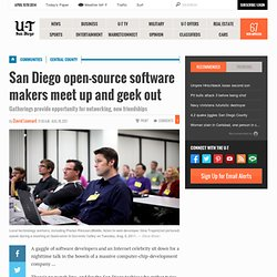 San Diego open-source software makers meet up and geek out