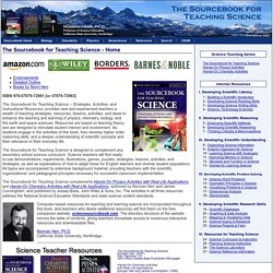 The Sourcebook for Teaching Science