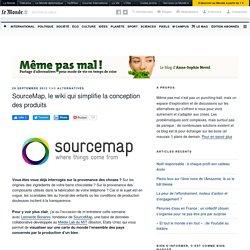 SourceMap, le wiki qui simplifie la conception des produits