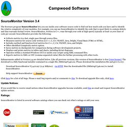 SourceMonitor V3.2